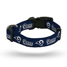 Officially Licensed NFL Small Pet Collar - Rams