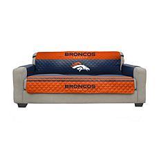 Officially Licensed NFL Sofa Cover - Denver Broncos