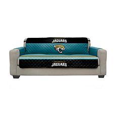 Officially Licensed NFL Sofa Cover - Jacksonville Jaguars