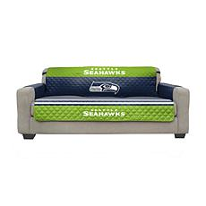 Officially Licensed NFL Sofa Cover - Seattle Seahawks