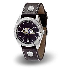 "Officially Licensed NFL Sparo ""Guard"" Strap Watch - Ravens"