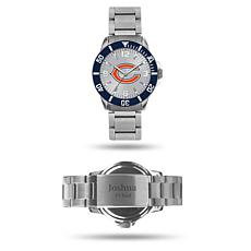Officially Licensed NFL Sparo Key Personalized Watch - Bears