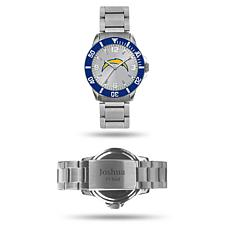 Officially Licensed NFL Sparo Key Personalized Watch - Chargers
