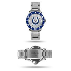 Officially Licensed NFL Sparo Key Personalized Watch - Colts