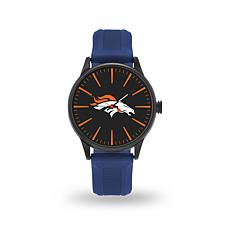 "Officially Licensed NFL Sparo Team Logo ""Cheer"" Strap Watch - Broncos"