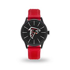 """Officially Licensed NFL Sparo Team Logo """"Cheer"""" Strap Watch - Falcons"""