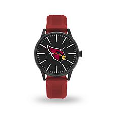 "Officially Licensed NFL Sparo Team Logo ""Cheer"" Strap Watch -Cardinals"
