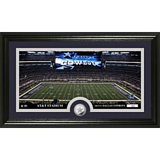 """Officially Licensed NFL """"Stadium"""" Minted Coin Panoramic Photo Mint ..."""