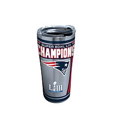 Officially Licensed NFL Super Bowl LIII Champs 20oz Stainless Tumbl...