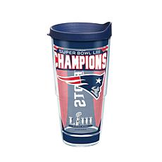 Officially Licensed NFL Super Bowl LIII Champs 24 oz. Tumbler-Patriots