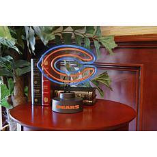 Officially Licensed NFL Team Logo Neon Lamp - Bears