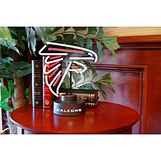 Officially Licensed NFL Team Logo Neon Lamp - Falcons