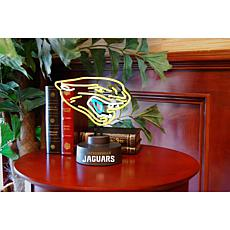 Officially Licensed NFL Team Logo Neon Lamp - Jaquars