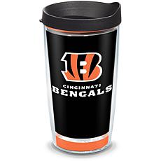 Officially Licensed NFL Touchdown  Tumbler w/ Lid - Cincinnati Bengals