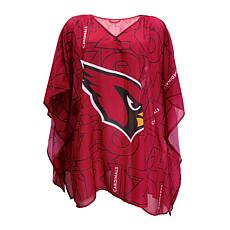 "Officially Licensed NFL ""Trace"" Caftan - Arizona Cardinals"