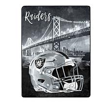 "Officially Licensed NFL     Ultra  Soft  60"" x 80"" Throw"