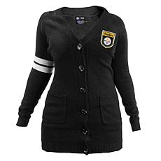 Officially Licensed NFL Varsity Cardigan - Steelers