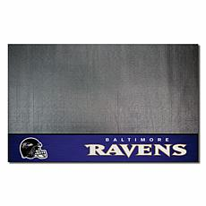 Officially Licensed NFL Vinyl Grill Mat  - Baltimore Ravens