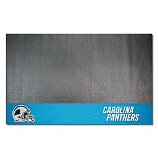 Officially Licensed NFL Vinyl Grill Mat  - Carolina Panthers