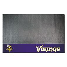 Officially Licensed NFL Vinyl Grill Mat  - Minnesota Vikings
