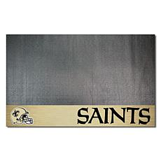 Officially Licensed NFL Vinyl Grill Mat  - New Orleans Saints