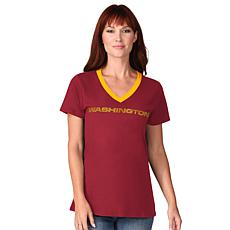 Officially Licensed NFL Washington Play the Ball Short-Sleeve Tee
