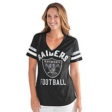 Officially Licensed NFL Women's Extra Point Bling Tee by Glll