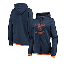 detailed look be0a8 5481a Officially Licensed NFL Women's Fandom Full-Zip Hoodie by Fanatics