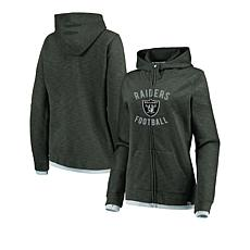 detailed look 630a9 b6a0f Officially Licensed NFL Women's Fandom Full-Zip Hoodie by Fanatics