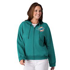 release date: 8b0e0 196d6 Officially Licensed NFL Women's Full-Zip Hoodie by Glll