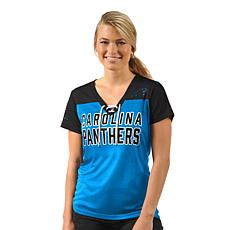 Officially Licensed NFL Women's Shake Down Short-Sleeve Tee  by Glll