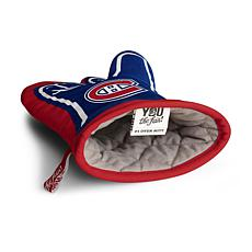 Officially Licensed NHL #1 Fan Oven Mitt - Montreal Canadiens