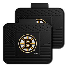 Officially Licensed NHL 2-Piece Utility Mat Set - Boston Bruins
