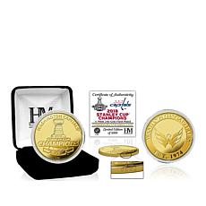 Officially Licensed NHL 2018 Stanley Cup Champions Coin