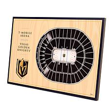 Officially-Licensed NHL 3D StadiumViews Display - Vegas Golden Knig...