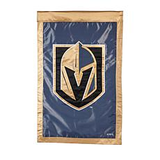 Officially Licensed NHL Applique House Flag - Vegas Golden Knights