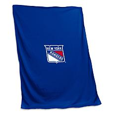 Officially Licensed NHL by Logo Chair Sweatshirt Blanket - NY Rangers