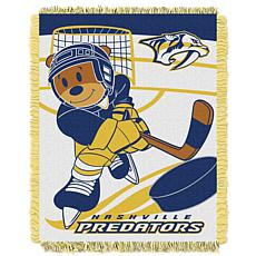 Officially Licensed NHL Field Baby Throw - Predators