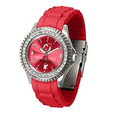 Officially Licensed NHL Sparkle Series Watch - New Jersey Devils