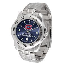 Officially Licensed NHL Sport Steel Series Watch - Montreal Canadiens