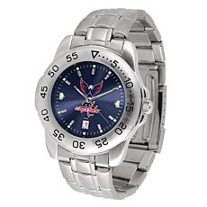 Officially Licensed NHL Sport Steel Series Watch - Washington Capitals