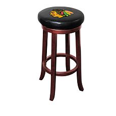 Officially Licensed NHL Wooden Bar Stool