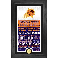 Officially Licensed Phoenix Suns House Rules Bronze Coin Photo Mint