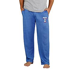 Officially Licensed Quest Men's Knit Pant by Concepts Sport - Rangers