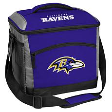 Officially Licensed Soft-Sided Insulated 24-Can Cooler Bag - Ravens