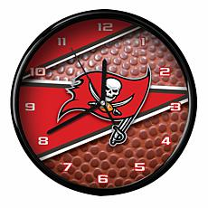 Officially Licensed Tampa Bay Buccaneers Team Football Clock