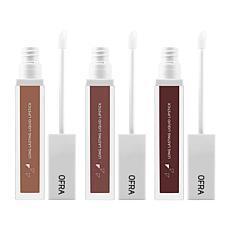 OFRA Cosmetics Matte Liquid Lipstick Manny MUA Trio