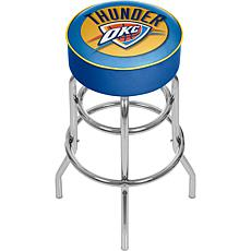 Oklahoma City Thunder NBA Padded Swivel Bar Stool