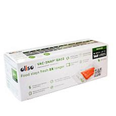 Oliso 14-pack Quart-Size Vac-Snap Sealing Bags