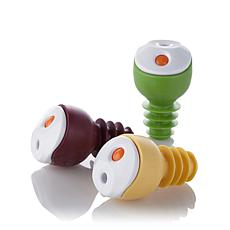 Oliso Freshkeeper Wine+Olive Oil Bottle Stoppers